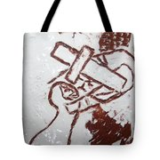 Lord Bless Me 9 - Tile Tote Bag
