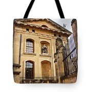 Lord Clarendon's Statue, Clarendon Building, Oxford Tote Bag