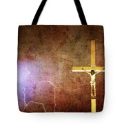 Lord Have Mercy - Crucifixion Of Jesus -2011 Tote Bag