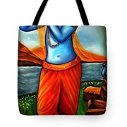 Lord Krishna- Hindu Deity Tote Bag