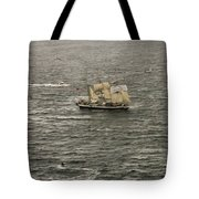Lord Nelson Enters Sydney Harbour Tote Bag