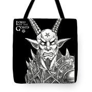 Lord Of The Goats Tote Bag