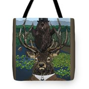 Lord Of The Manor With Hidden Pictures Tote Bag