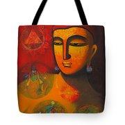 Lord Vishnu Tote Bag