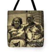 Lorenzo  Madgie And Angela Tote Bag