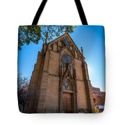 Loretto Chapel Tote Bag
