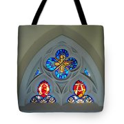 Loretto Chapel Stained Glass Tote Bag