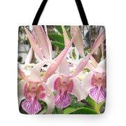 Lorie Mortimer Dendrobium Tote Bag