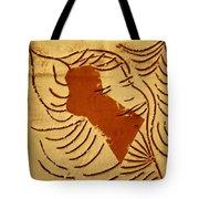 Lornah- Tile Tote Bag