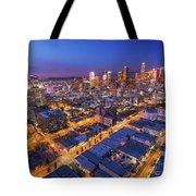 Los Angeles At Dusk Tote Bag