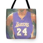 Los Angeles Lakers Kobe Bryant 2 Tote Bag