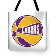 Los Angeles Lakers Retro Shirt Tote Bag