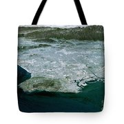 Los Angeles, Radar Image Tote Bag by NASA / Science Source