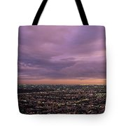 Los Angels Sunset Tote Bag