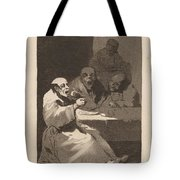 Los Caprichos: Estan Calientes Tote Bag