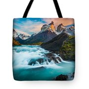 Los Cuernos Fairyland Tote Bag by Inge Johnsson