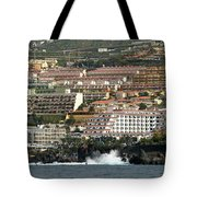 Los Gigantes From The Sea Tote Bag