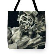 Los Guerreros Tote Bag by Roberto Valdes Sanchez