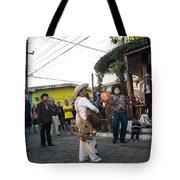 Los Historiantes De Apaneca Tote Bag