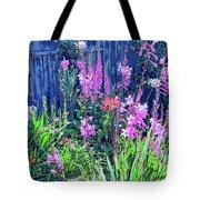 Los Osos Flower Garden Tote Bag