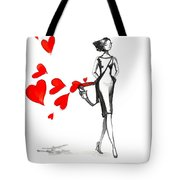 Lose  Your Heart Tote Bag