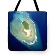 Losiep Atoll Tote Bag by Mitch Warner - Printscapes