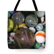 Losing My Marbles Tote Bag