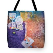 Losing My Marbles Tote Bag