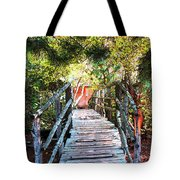 Lost Bridge Tote Bag