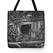 Lost Burro Mine Death Valley Tote Bag