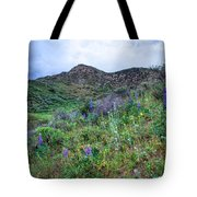 Lost Canyon Wildflowers Tote Bag