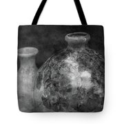 Lost Crystal Glaze Vessels 1722 Bw_2 Tote Bag