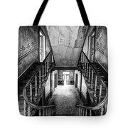 Lost Glory Staircase - Abandoned Castle Tote Bag