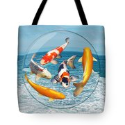 Lost In A Daydream - Fish Out Of Water Tote Bag