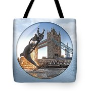 Lost In A Daydream - Floating On The Thames Tote Bag