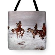 'lost In A Snow Storm - We Are Friends' Tote Bag