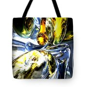 Lost In Space Abstract Tote Bag