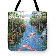 Lost In The Amazon Tote Bag