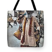Lost In The City Tote Bag