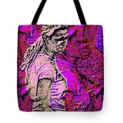 Lost In Thoughts Of Self Reflection Tote Bag