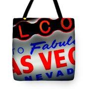 Lost In Vegas Tote Bag