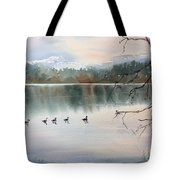 Lost Lagoon Evening Tote Bag