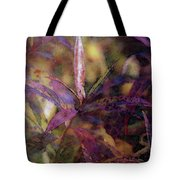 Lost Leaves Decorated In Purple 6003 Ldp_2 Tote Bag