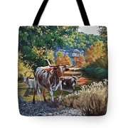 Lost Maples Watering Hole Tote Bag