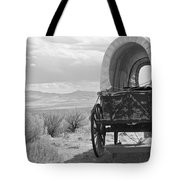 Lost On The Oregon Trail Tote Bag