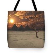 Lost Pyramids Tote Bag