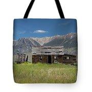 Lost River Range Cabin Tote Bag