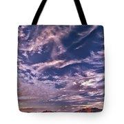 Lost River Sky Tote Bag