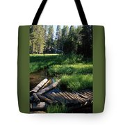 Lost Trout Creek Tote Bag