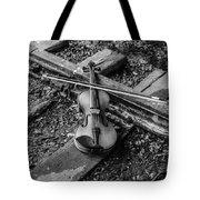 Lost Violin Tote Bag
